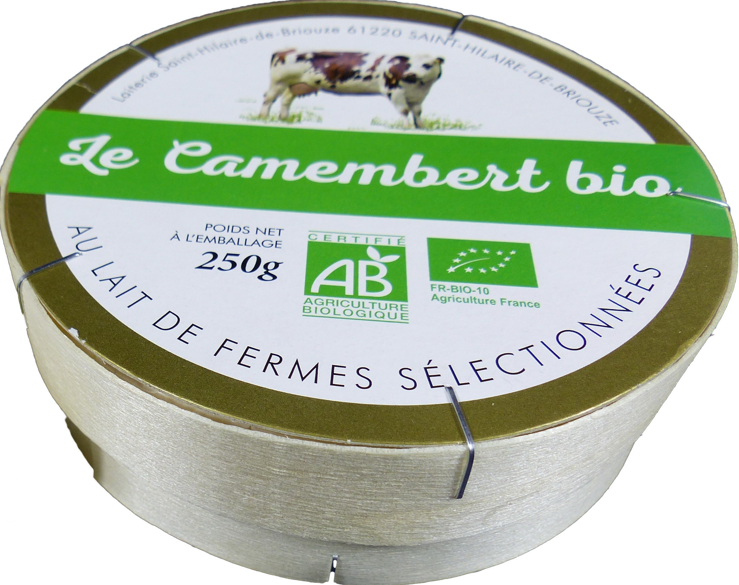 Le Camembert Bio Normandie